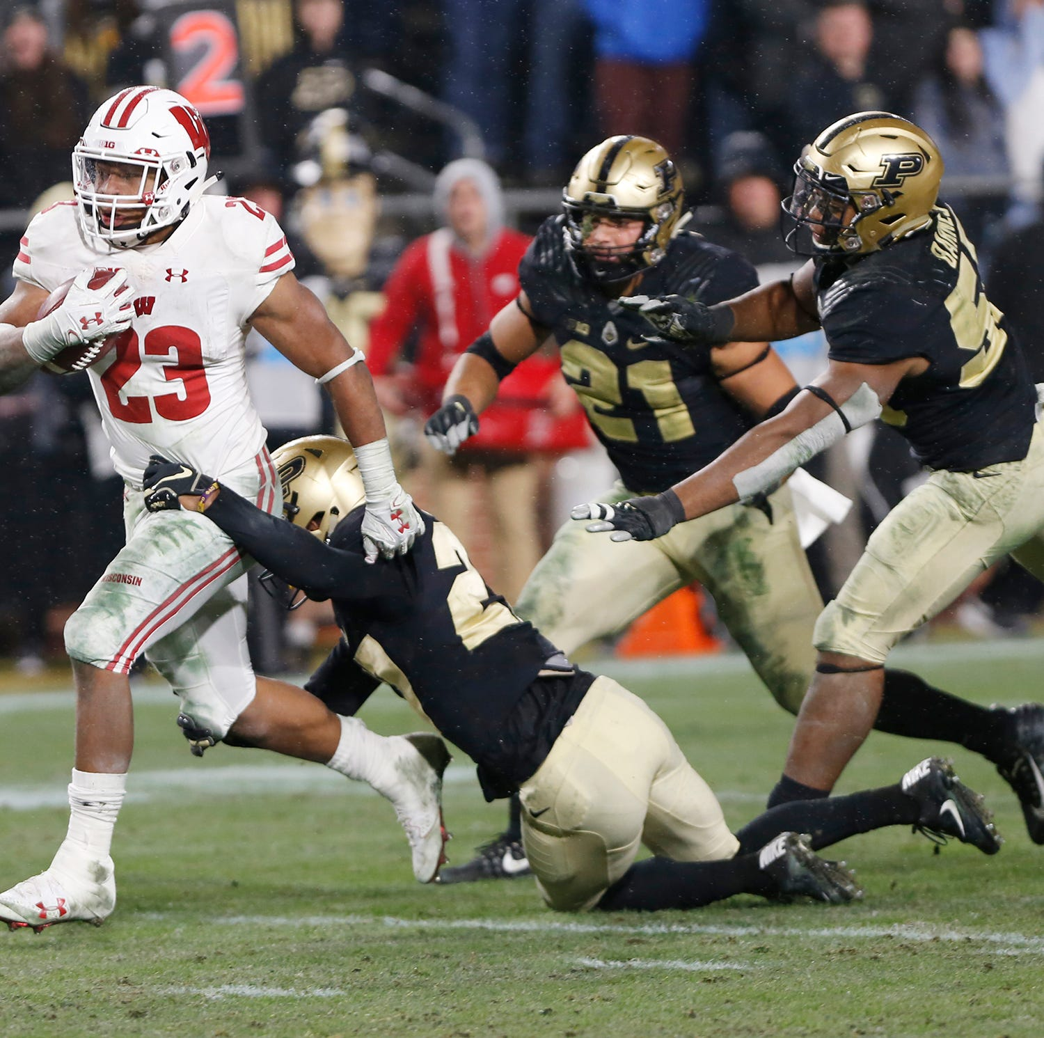 Wisconsin 47, Purdue football 44, 3 OT's | Grading the Boilers