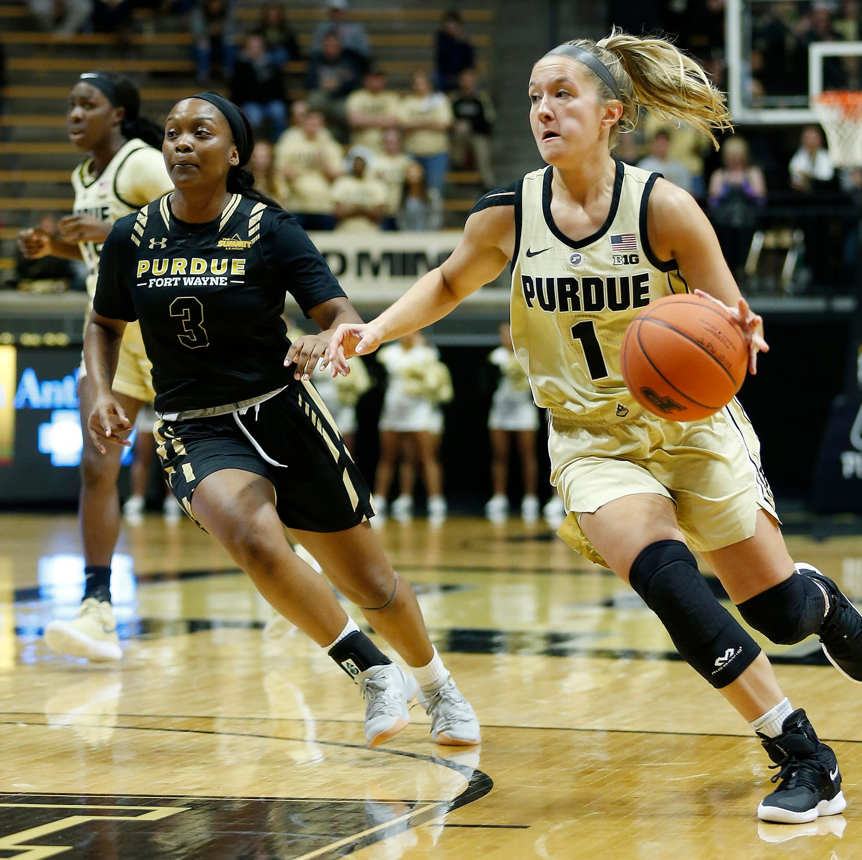 Karissa McLaughlin's career game gives Purdue women's basketball new life