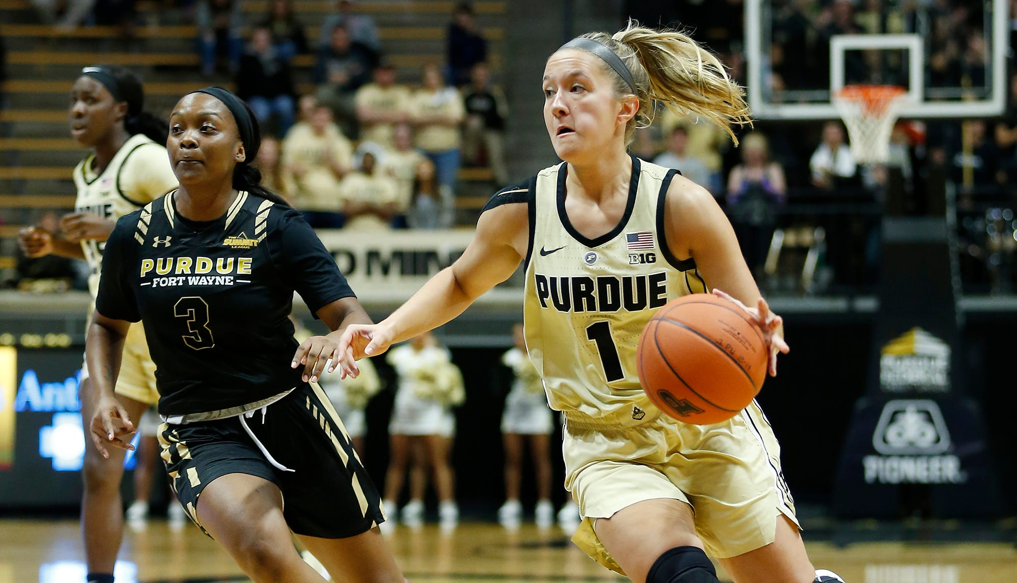 Karissa McLaughlin's career game gives Purdue women's basketball new life