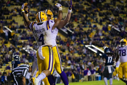 Ncaa Football Rice At Louisiana State
