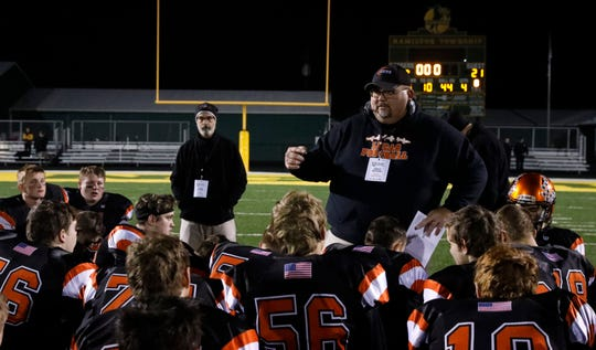 Lucas coach Scott Spitler was patient in building his football program and has been rewarded with five consecutive playoff appearances.