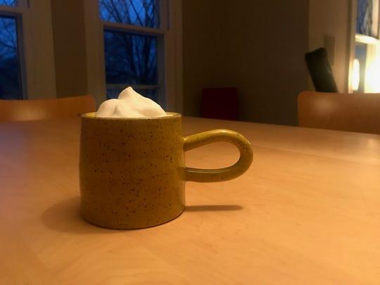 Ethan Kastner's ceramic mug, available at Form.