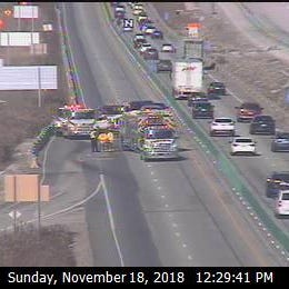 All lanes are now open on southbound I-41/94 in Mt. Pleasant
