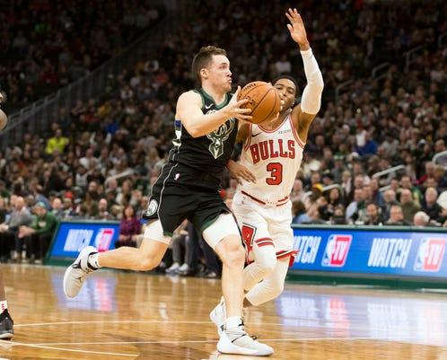 Nba Chicago Bulls At Milwaukee Bucks