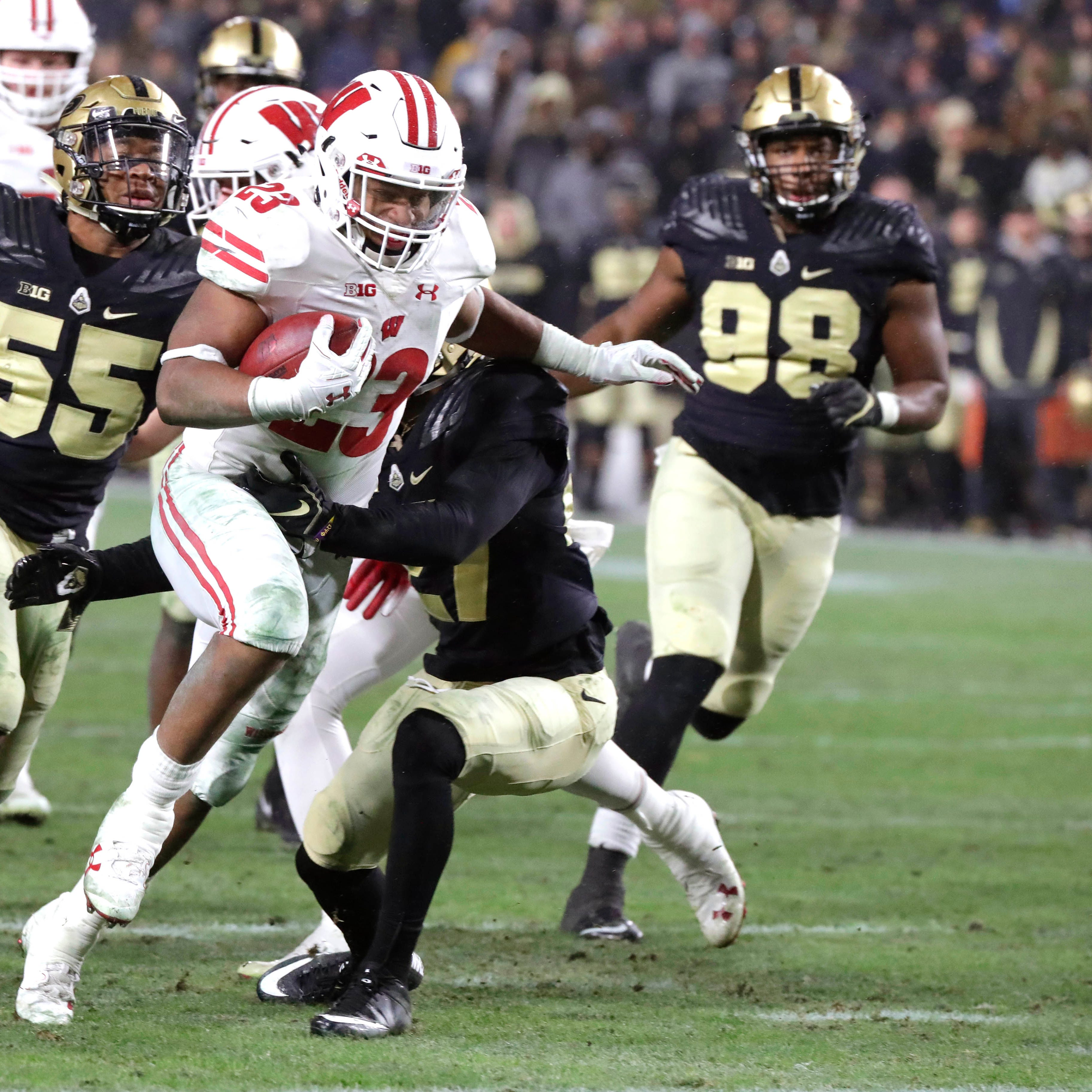 UW 47, Purdue 44 (3 OT): Jonathan Taylor lifts Badgers in extra sessions