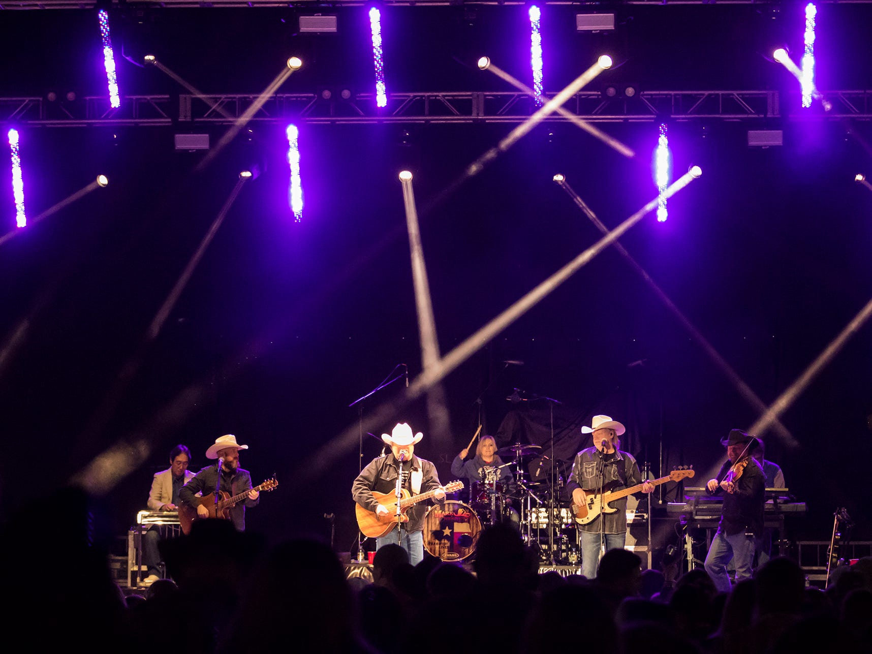 Thousands turned out for country music festival Bayou Stock on Nov. 17 in Sterlington. The event was founded by Bastrop native Dylan Scott.