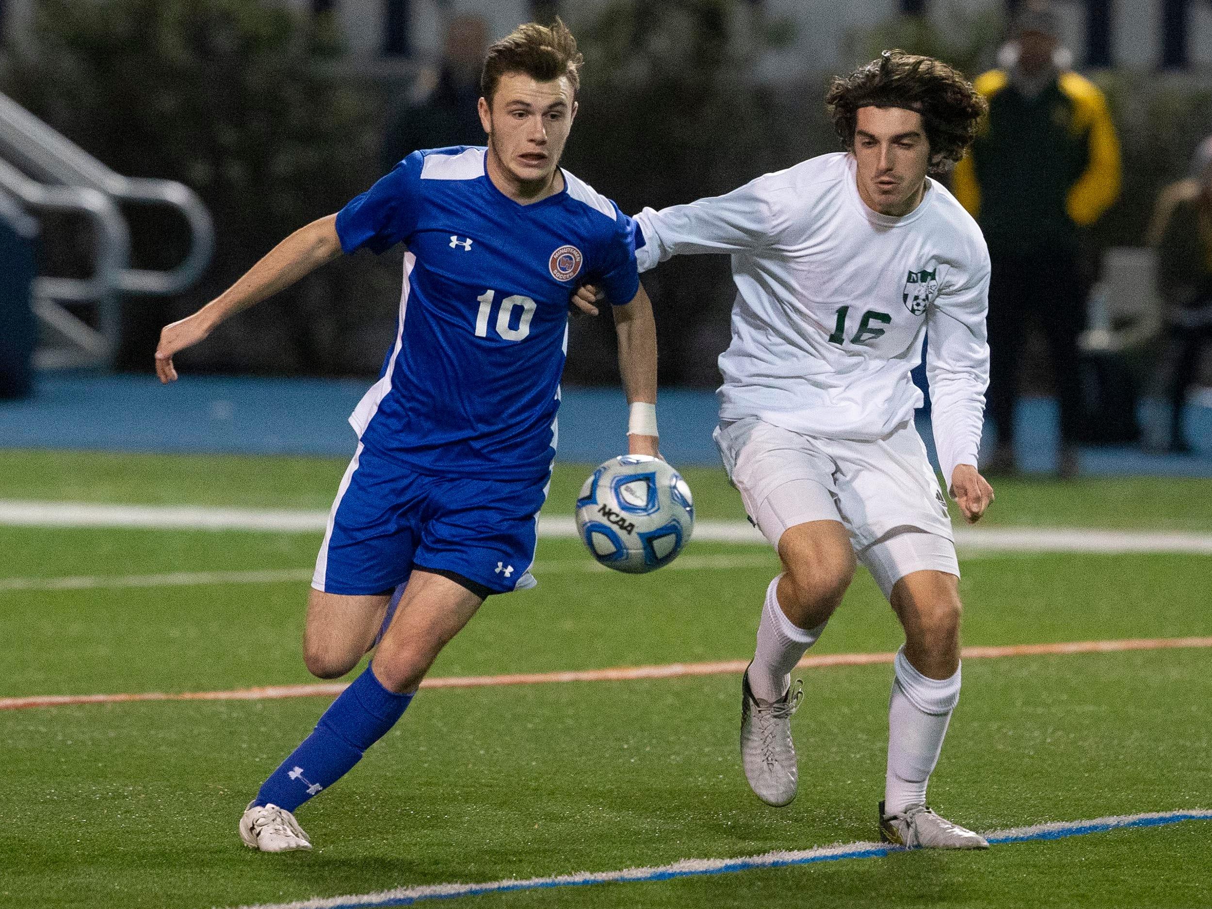 Morris Knolls boys soccer falls to Washington Township in Group IV final
