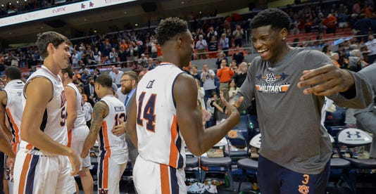 Ncaa Basketball Washington At Auburn