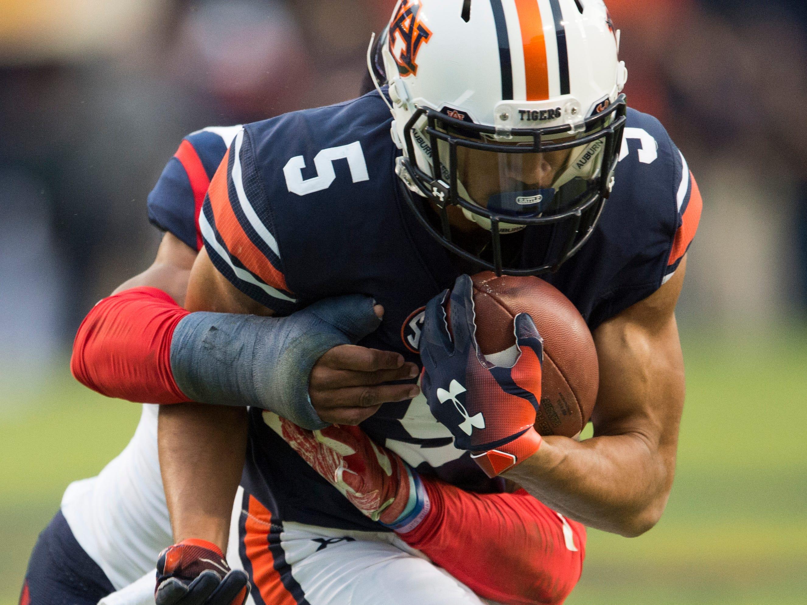Auburn football wide receiver Anthony Schwartz undergoes ...