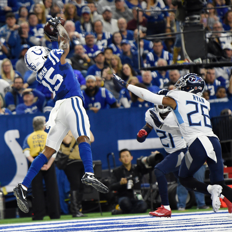 Titans vs. Colts: Meltdown on the field, big scare off it