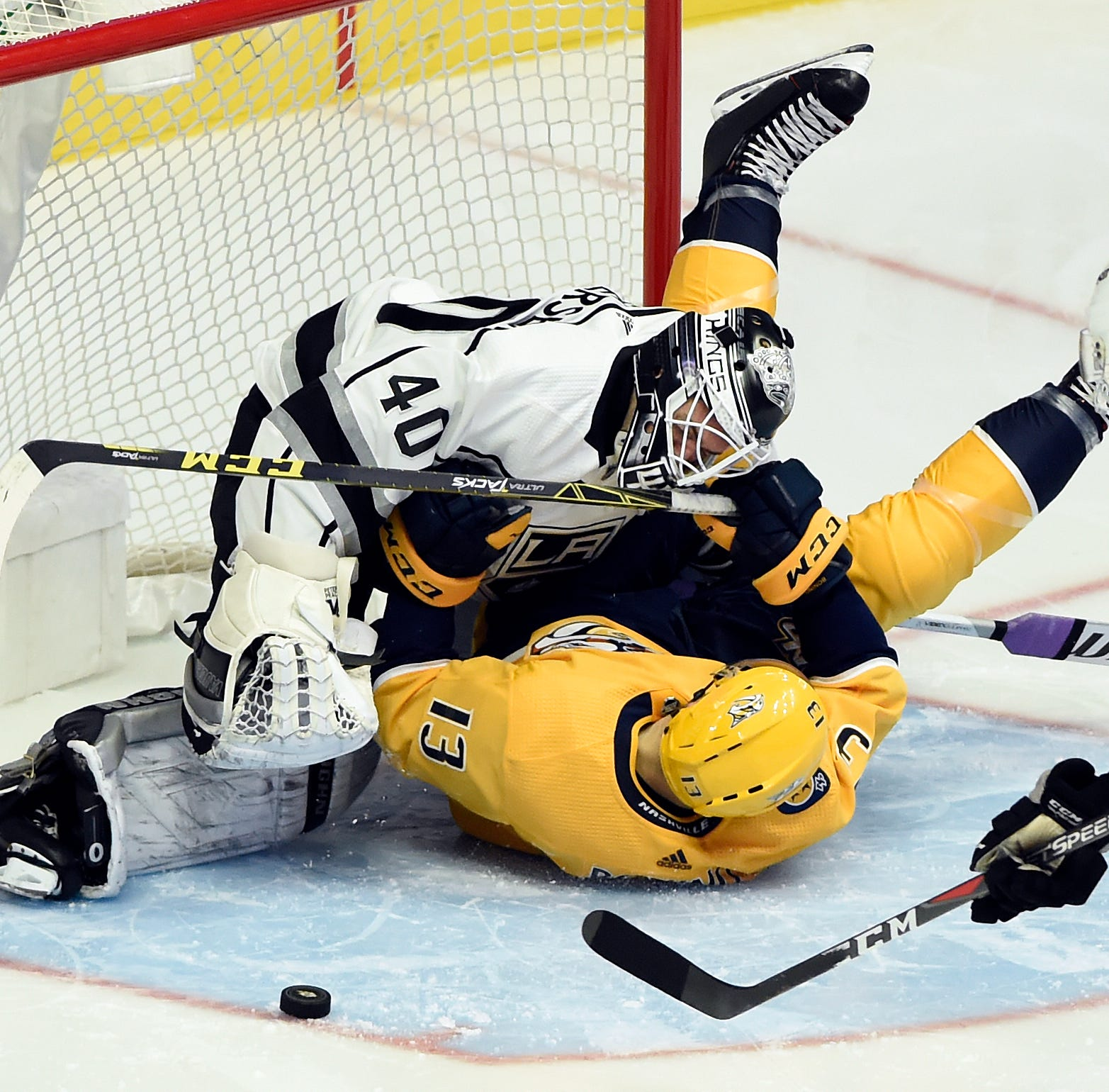 Saturday's recap: Predators 5, Kings 3