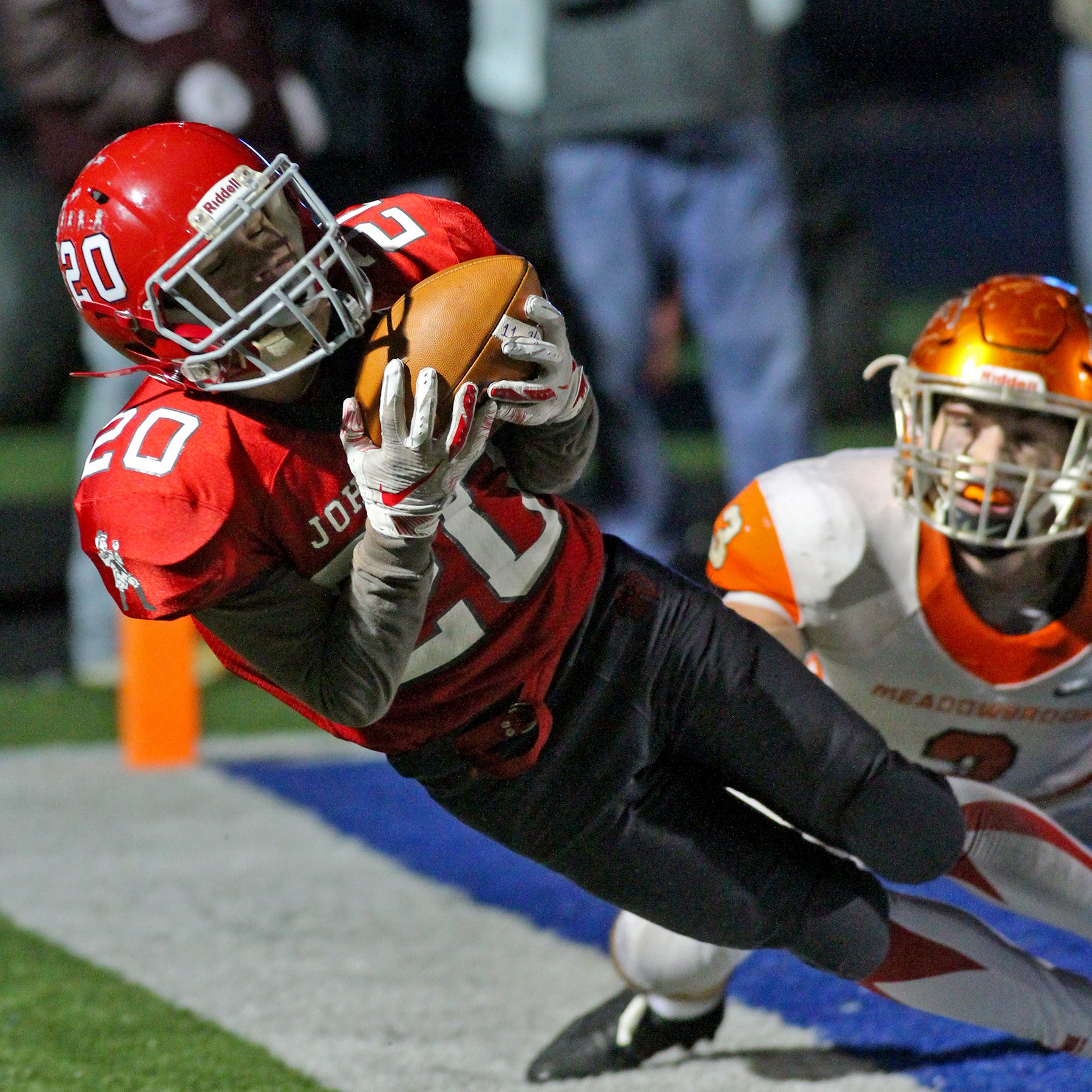 Johnstown rolls over Meadowbrook 45-14, secures second Final Four berth