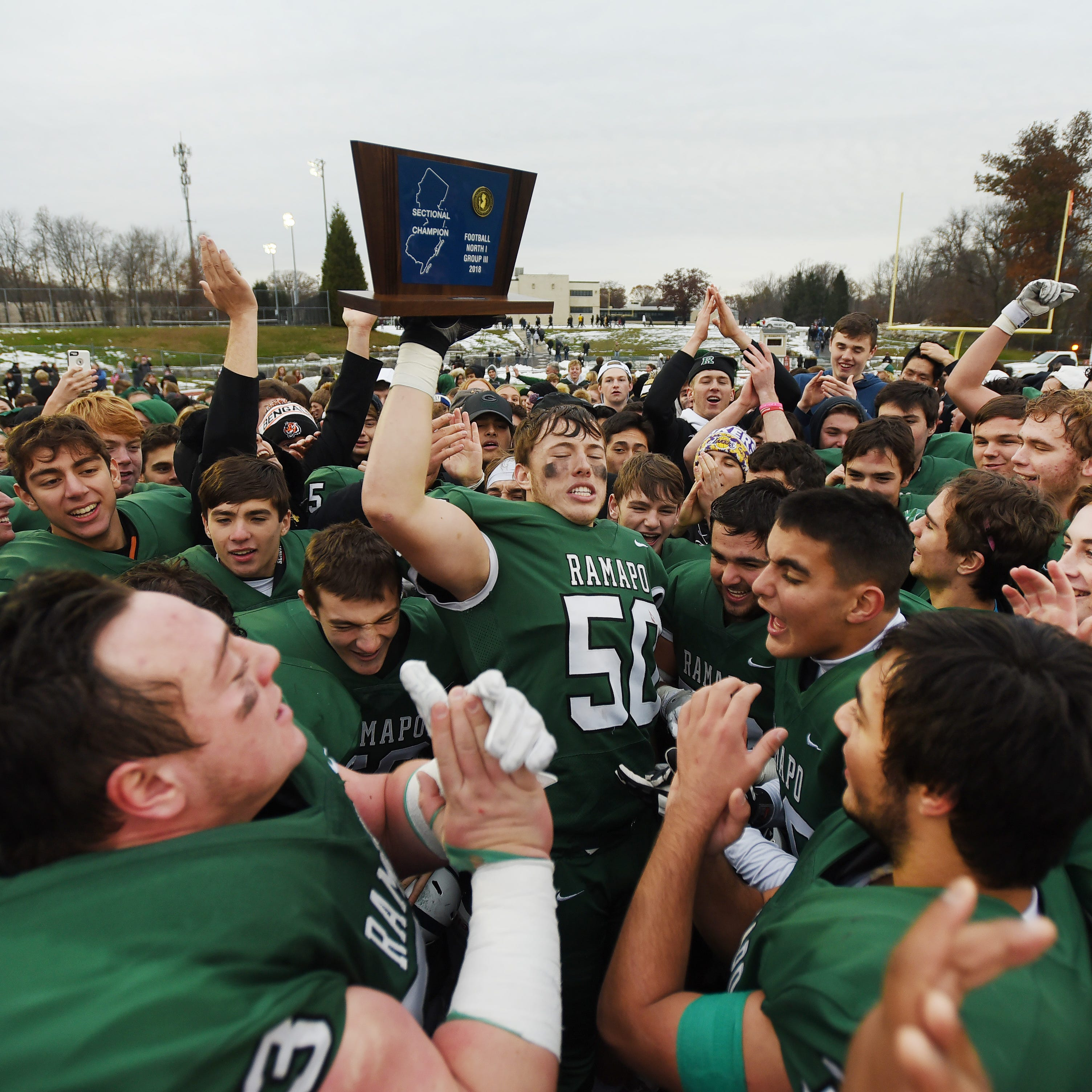 Ramapo football dominates defending champ River Dell for sectional title