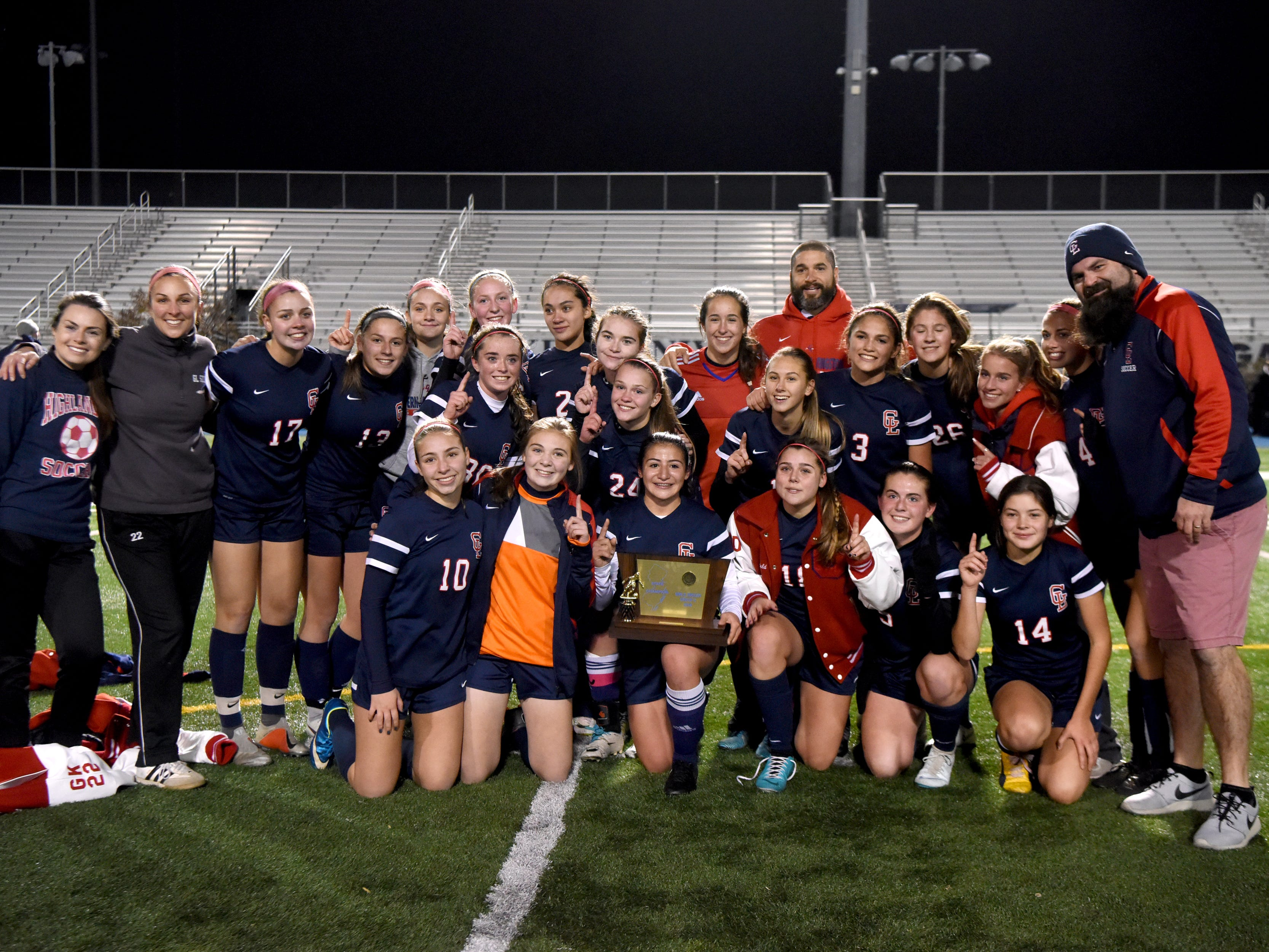 Governor Livingston wins the Group II title over Ramsey on Sunday, Nov. 18, 2018 at Kean University.