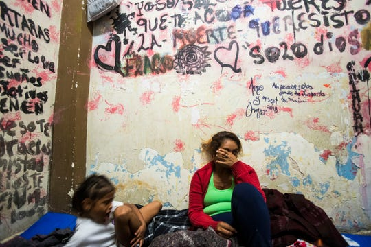 1,300 Honduran migrants arrived in the city of Mexicali, unable to continue their journey to Tijuana. The migrants are uncertain of their future as they hear of a backlash from some in Tijuana.