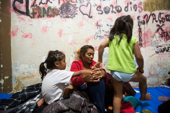 Unable to continue their journey to Tijuana, Mexico, hundreds of Honduran migrants are uncertain of their future after arriving to the city of Mexicali.