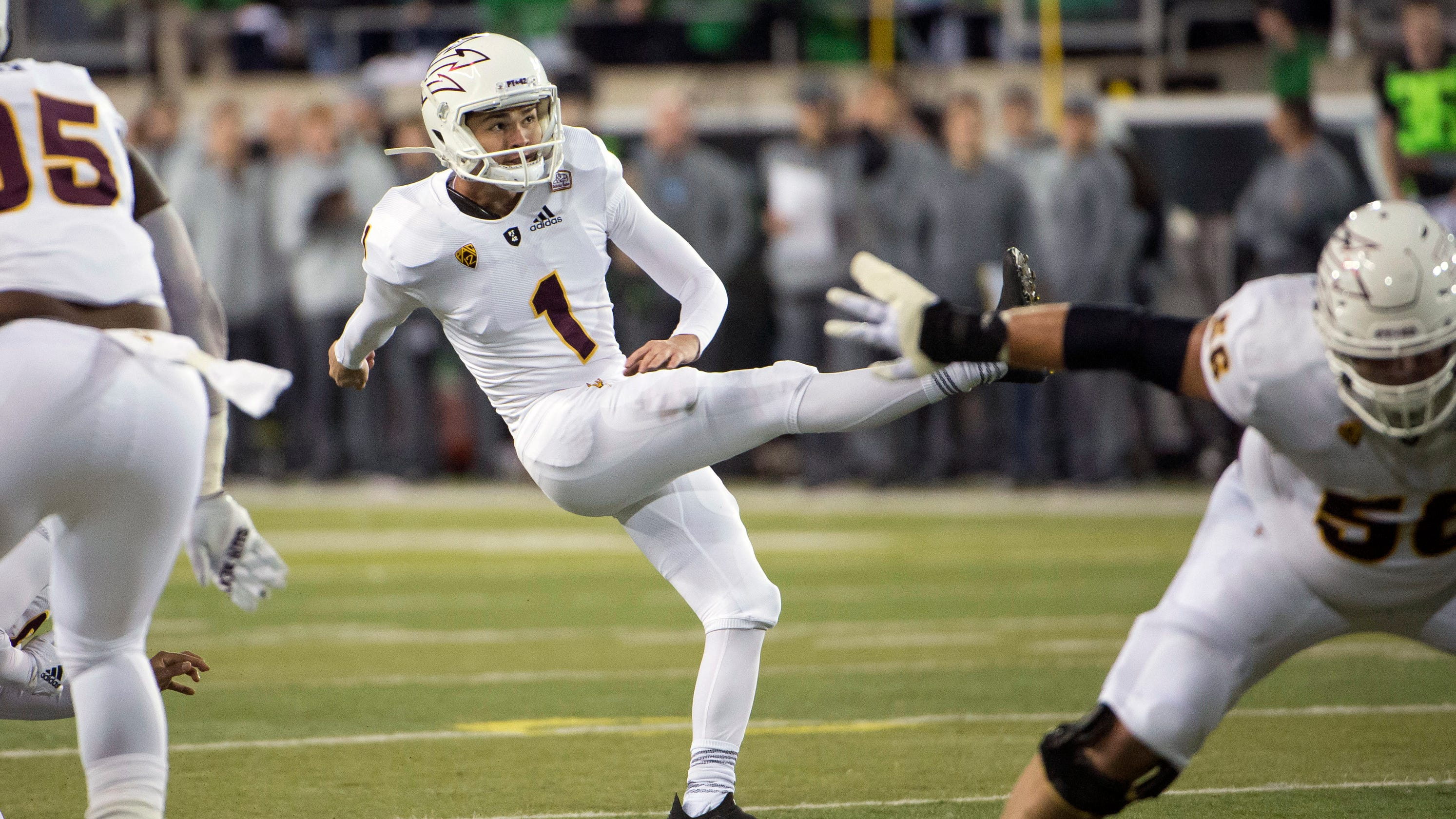 Former Arizona State kicker Brandon Ruiz to transfer to Mississippi State after all