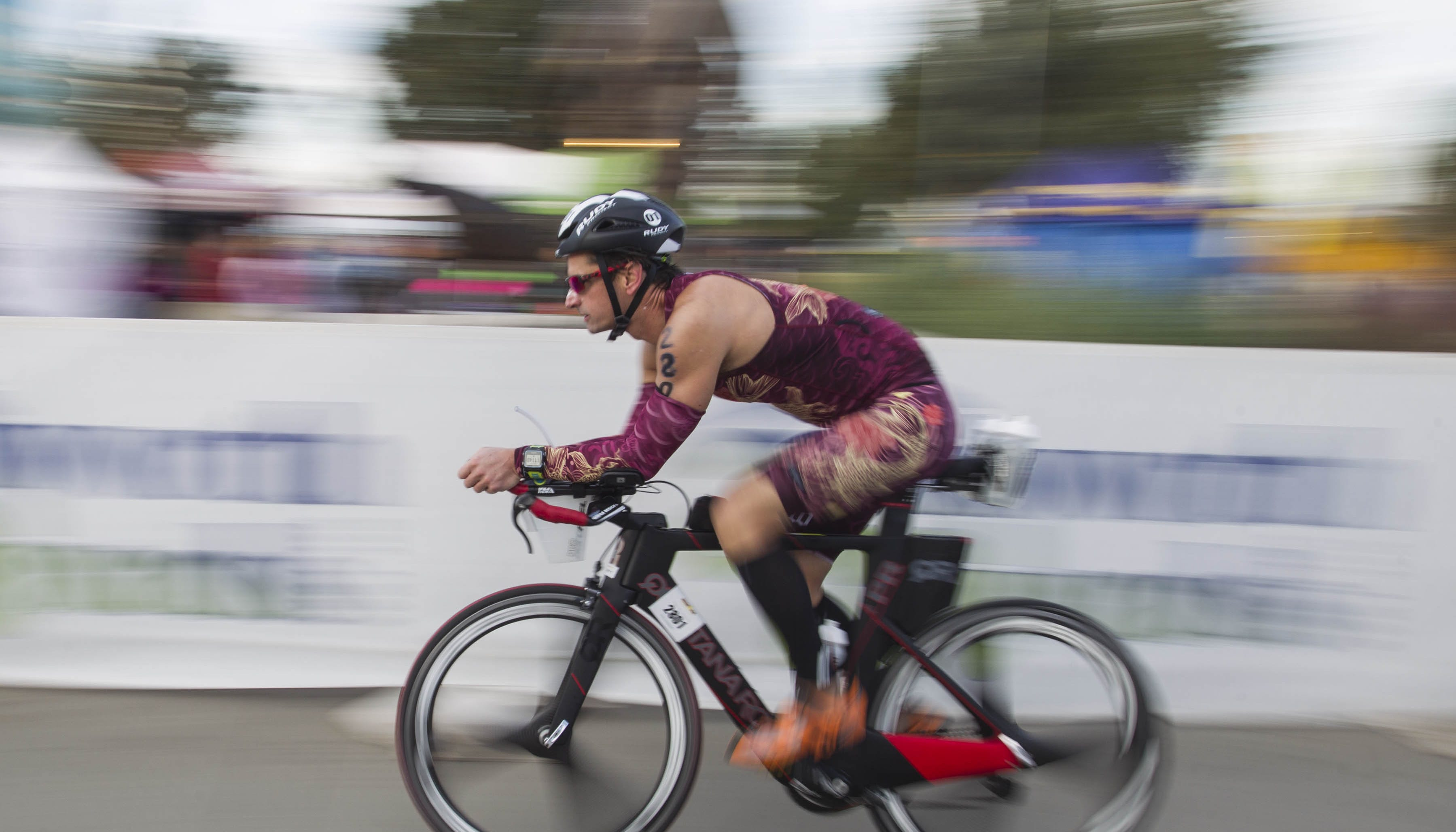 Ironman kicks off Sunday; get ready for traffic and detours