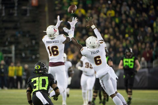 Ncaa Football Arizona State At Oregon