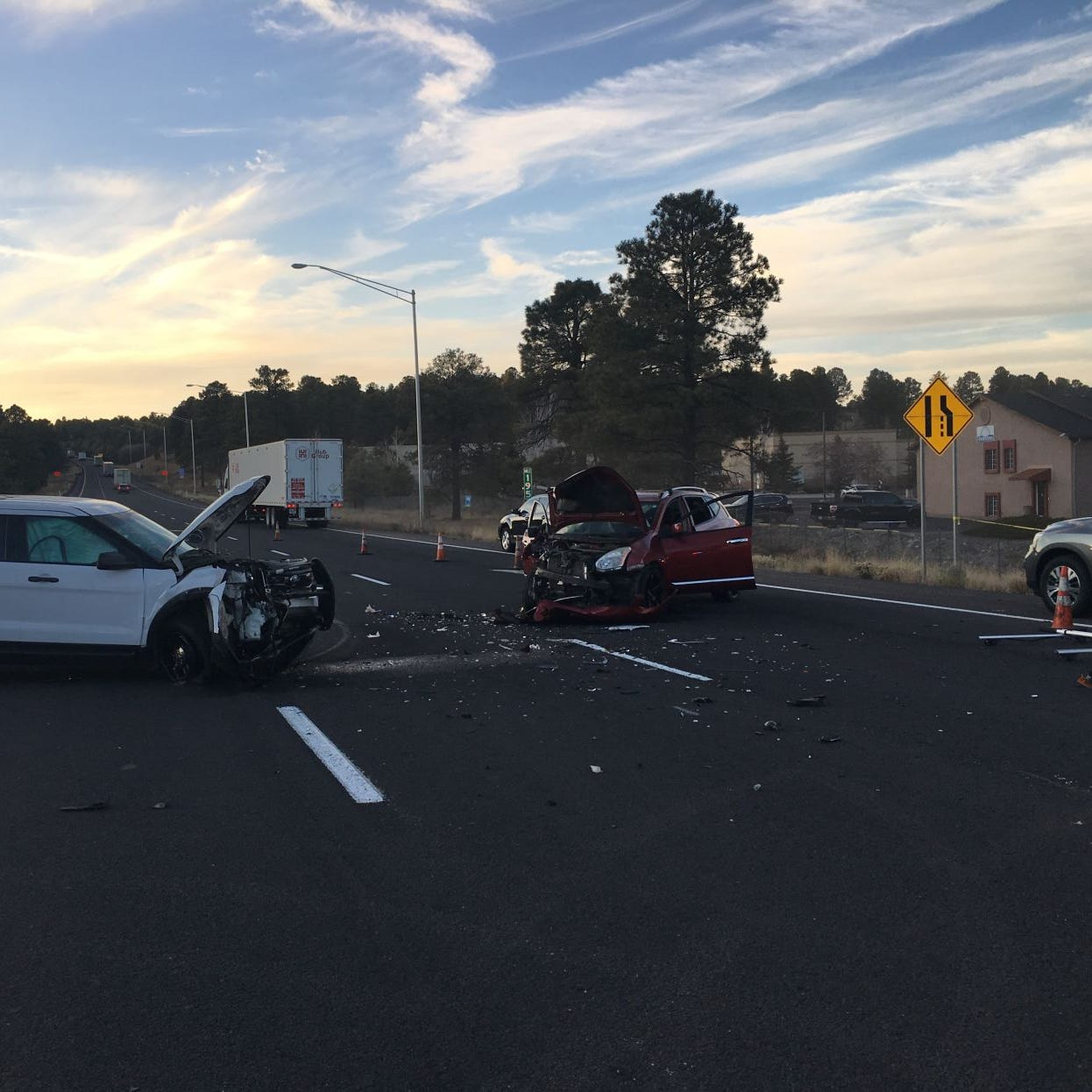 Arizona wrong-way driver blames DPS for crash, injuries