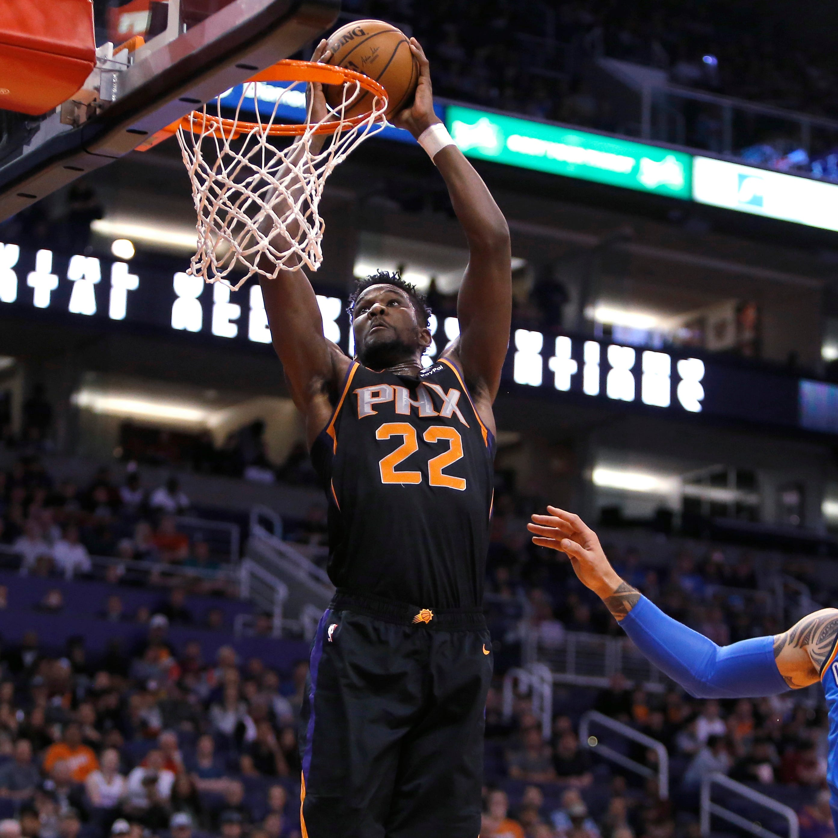 'Another game': Suns rookie Deandre Ayton downplays battle with 76ers center Joel Embiid