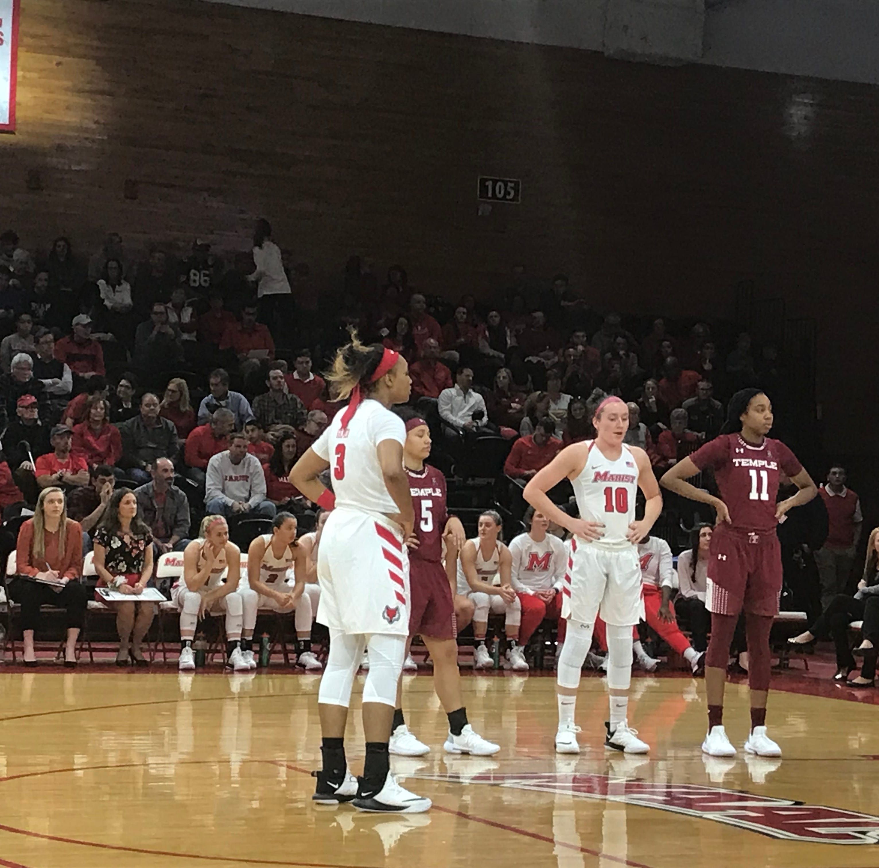 Marist women defeat Temple before Nashville trip
