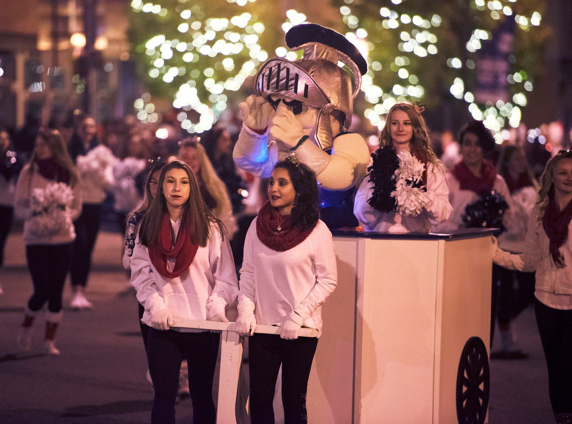 The 48th Annual Chambersburg Christmas Parade, sponsored by Downtown Business Council passes through Memorial Square on Saturday, November 17, 2018.
