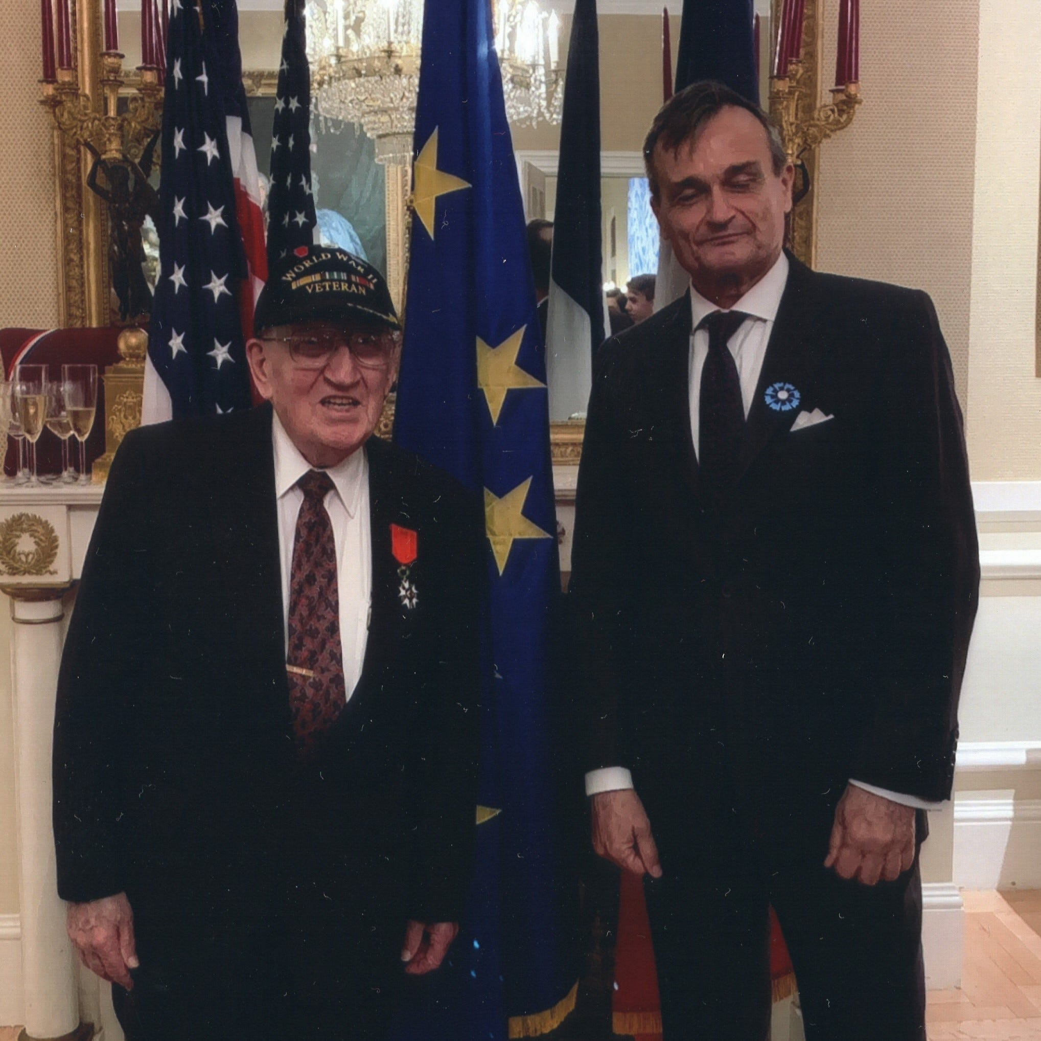 France gives Chambersburg WWII veteran its highest honor