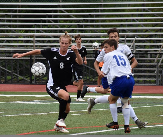 South Western's Casey Slater is the York-Adams Division I Boys' Soccer Player of the Year.