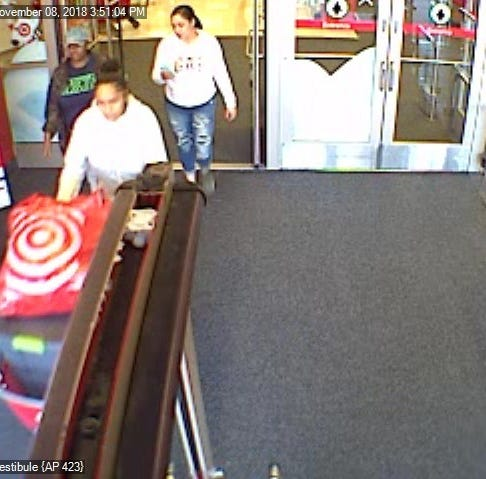 Springetsbury Township Police are looking to identify these individuals in connection with a retail theft at Target.