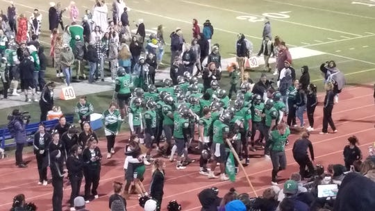 Fallon beat Truckee 28-7 on Saturday night for the 3A state football championship.