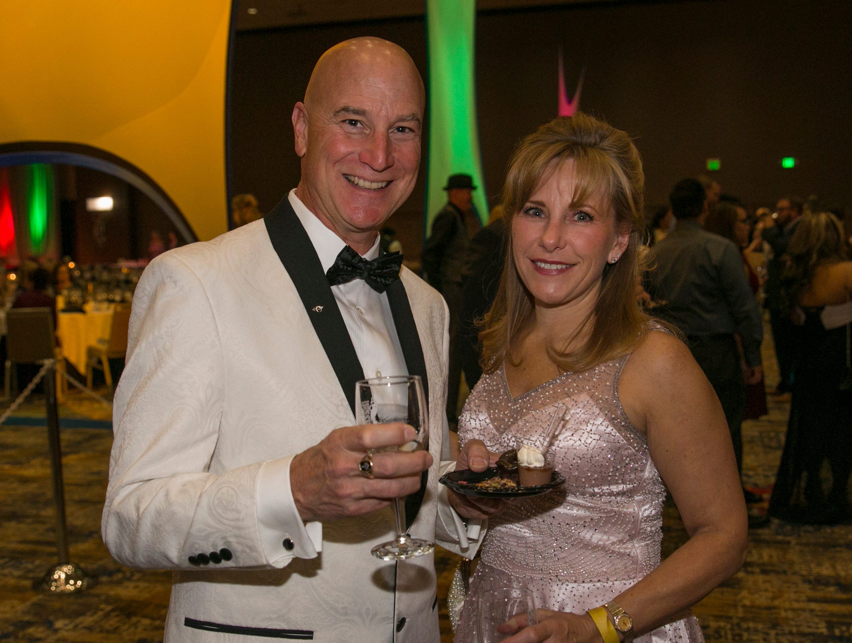 Photos from Fantasies in Chocolate on Saturday night at the GSR.