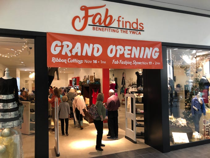 Fab Finds, the new resale boutique benefiting the YWCA, hosted a grand opening fashion show at Mall St. Vincent in Shreveport on Saturday, Nov. 17.