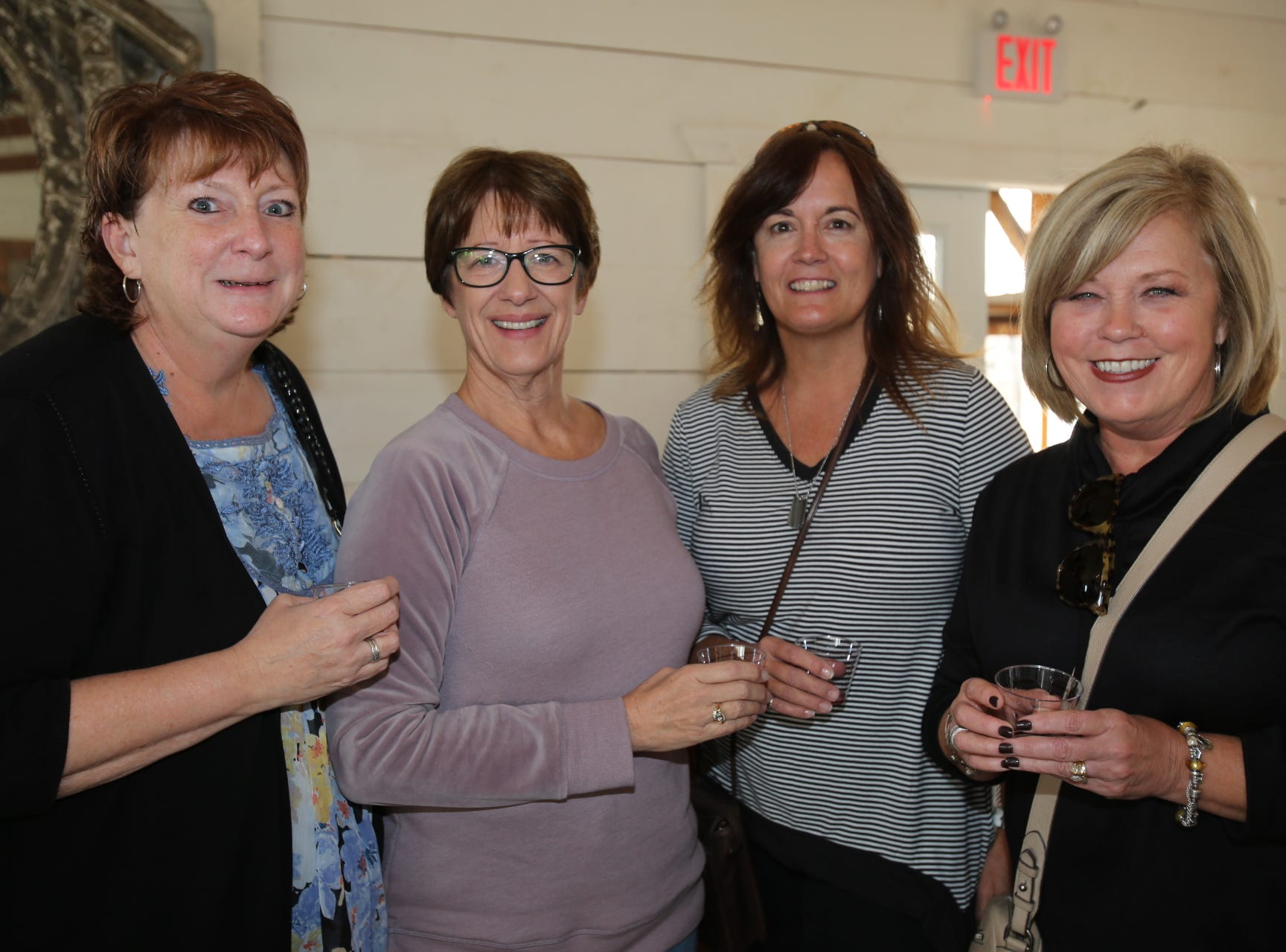 Debbie Duncan, Candy Newbury, Elaine Kubik, and Debbie Nelson