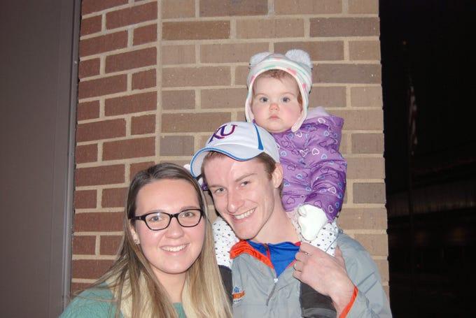 Michaela, Andrew and Gloria Brashears