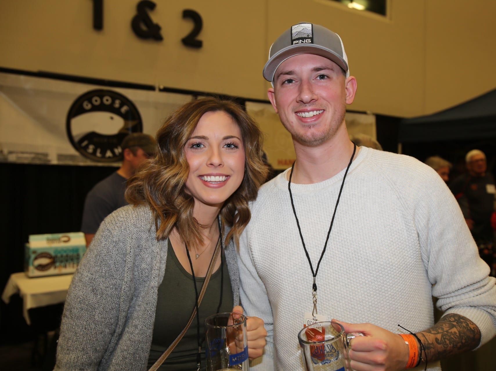 Jennifer Williams and Zack Denney