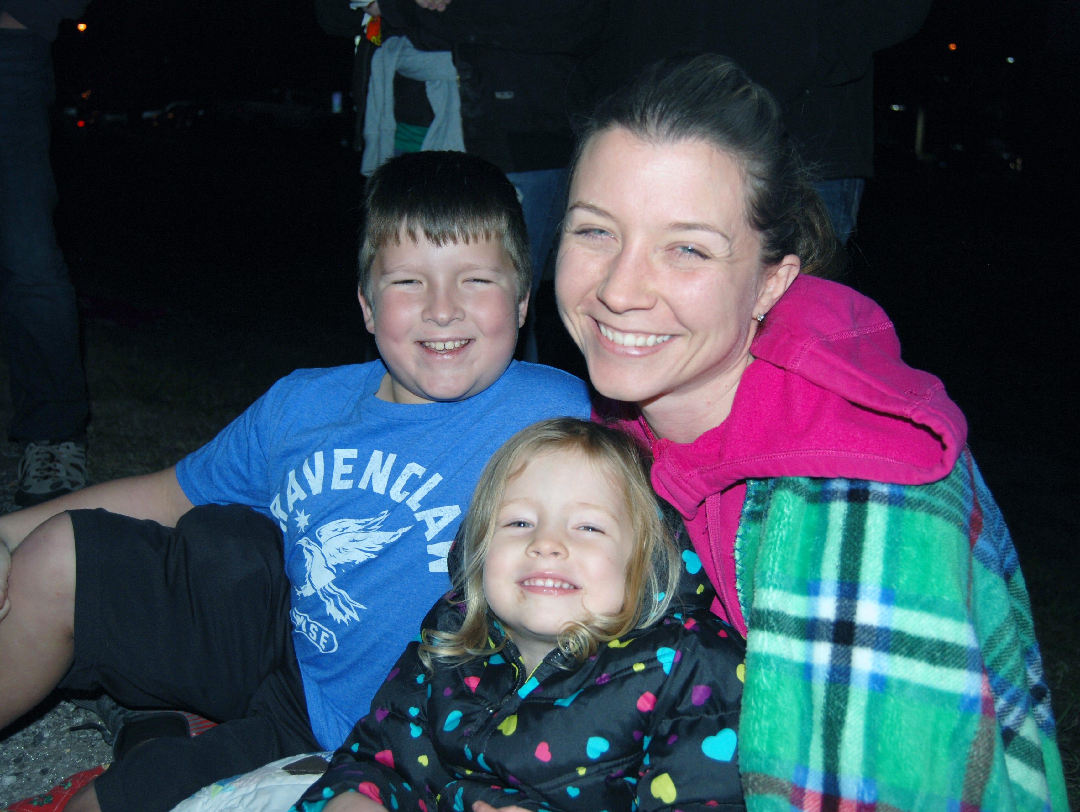 Ben, Madeline and Laura Garrett