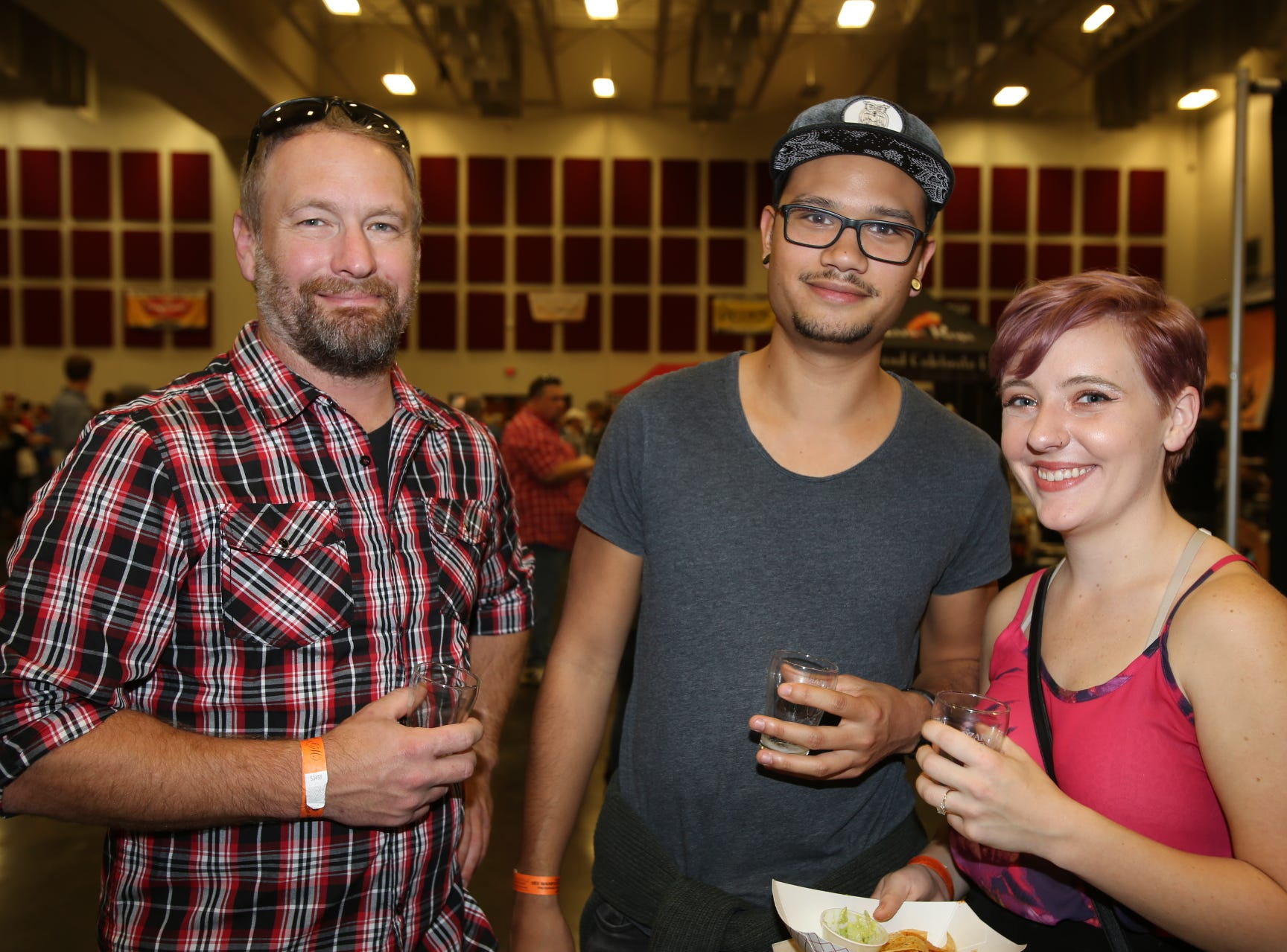 Attendees at the 2018 Beerfest.