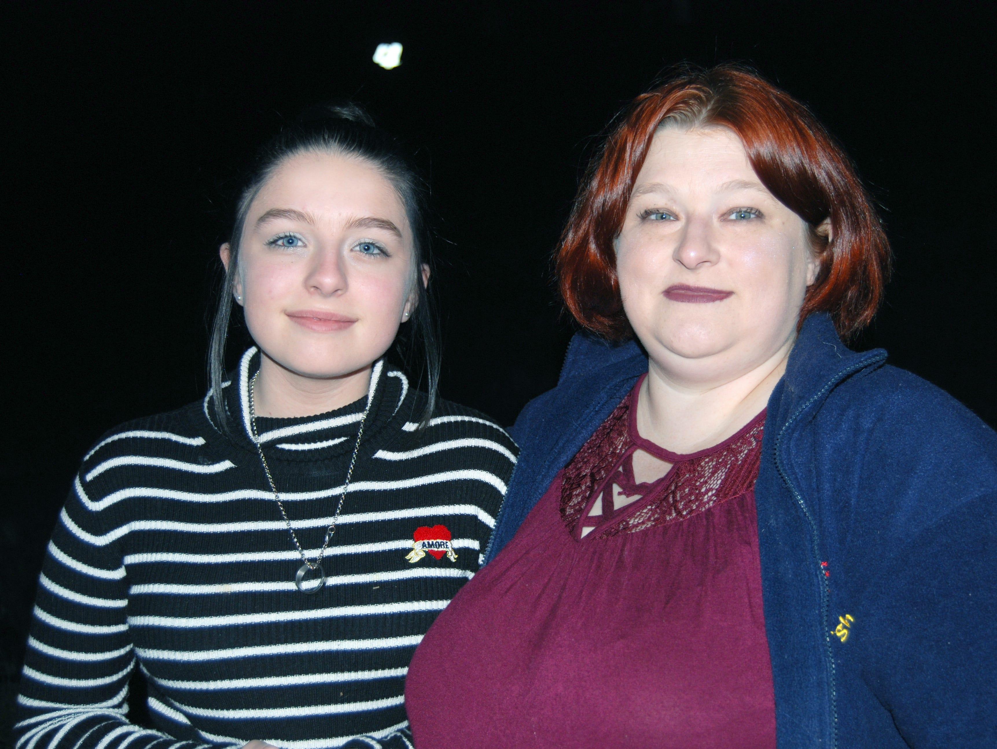 Ashley and Bridget Pamplin