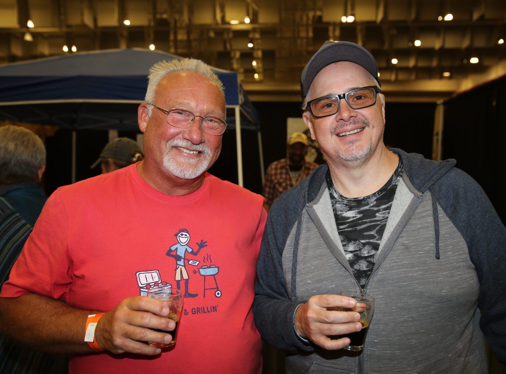 Roger Cannon and Greg Maggi