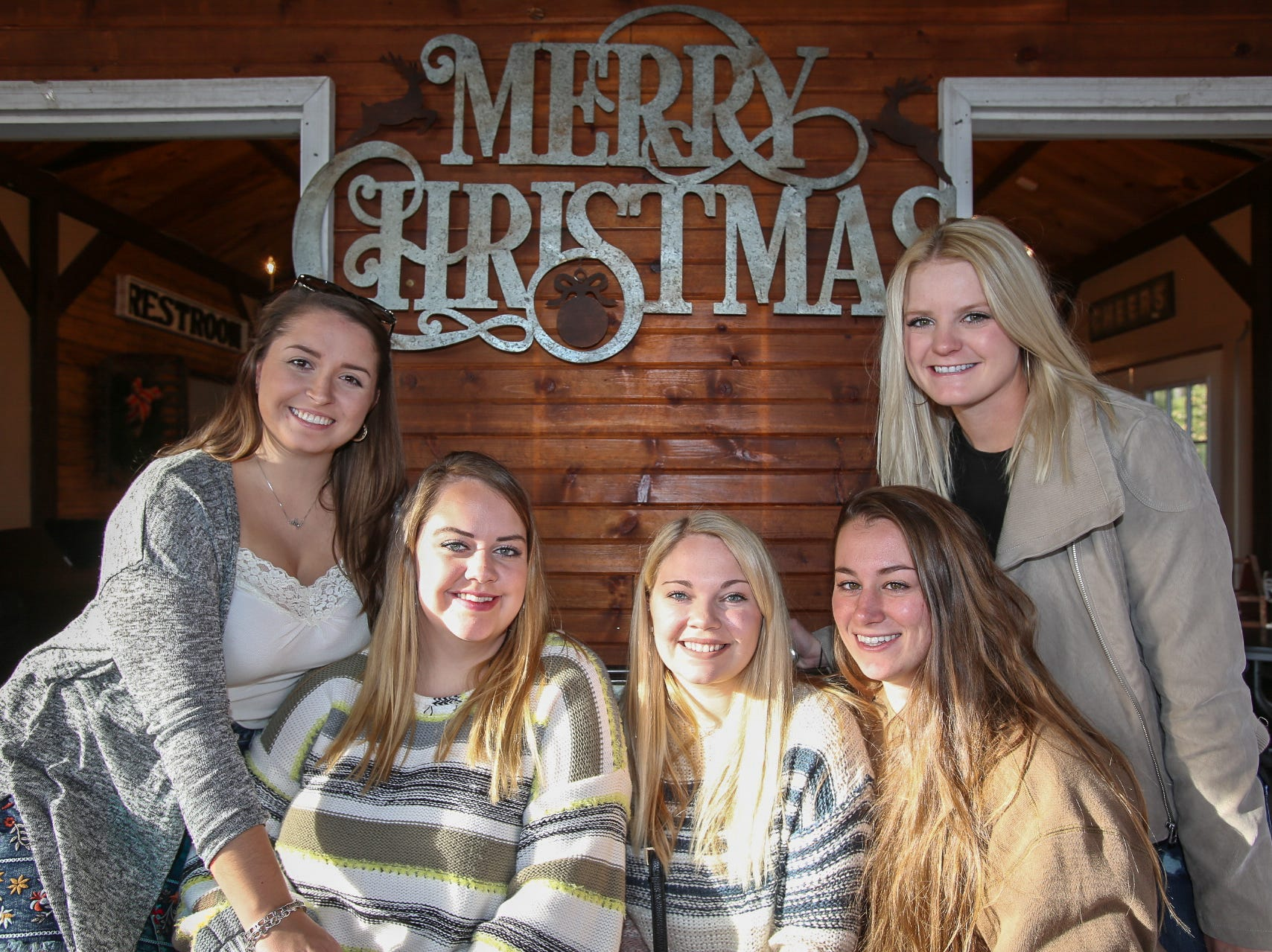 Julianna Rogers, Krista Burris, Cailen Roberts, Haley Stedman, and Micah McCarty