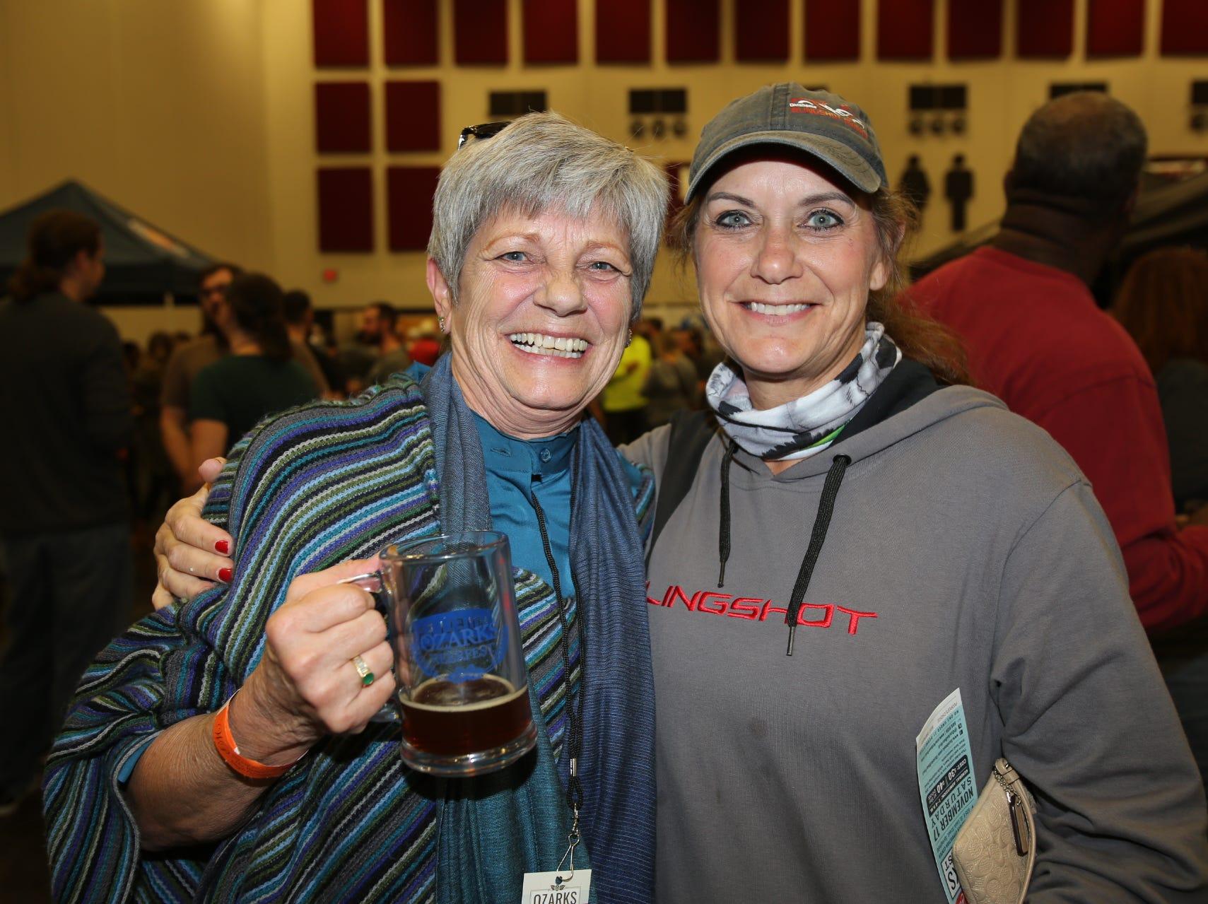Carolyn West and Dianna Sharum