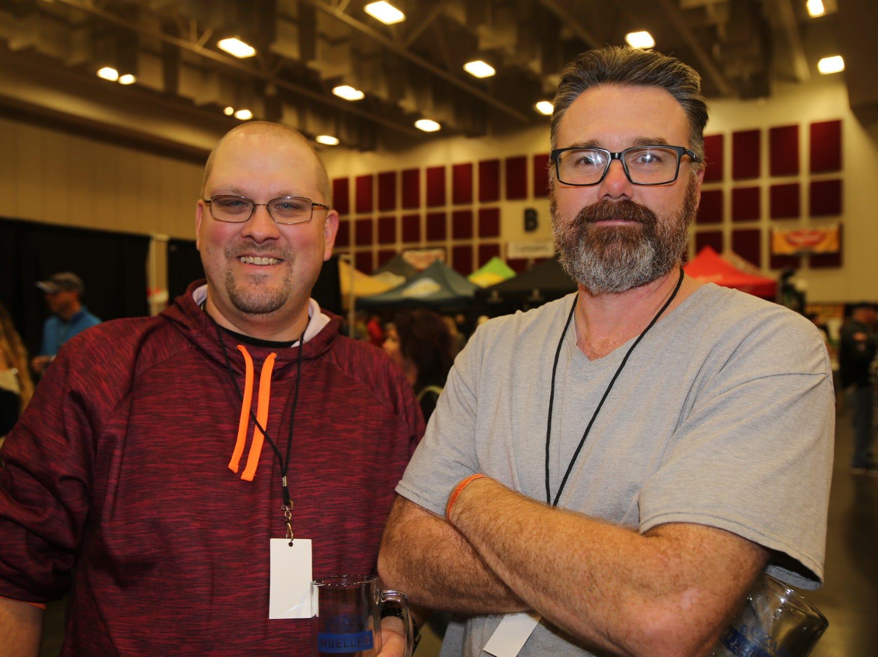 Dustin Crayton and Mark Miller