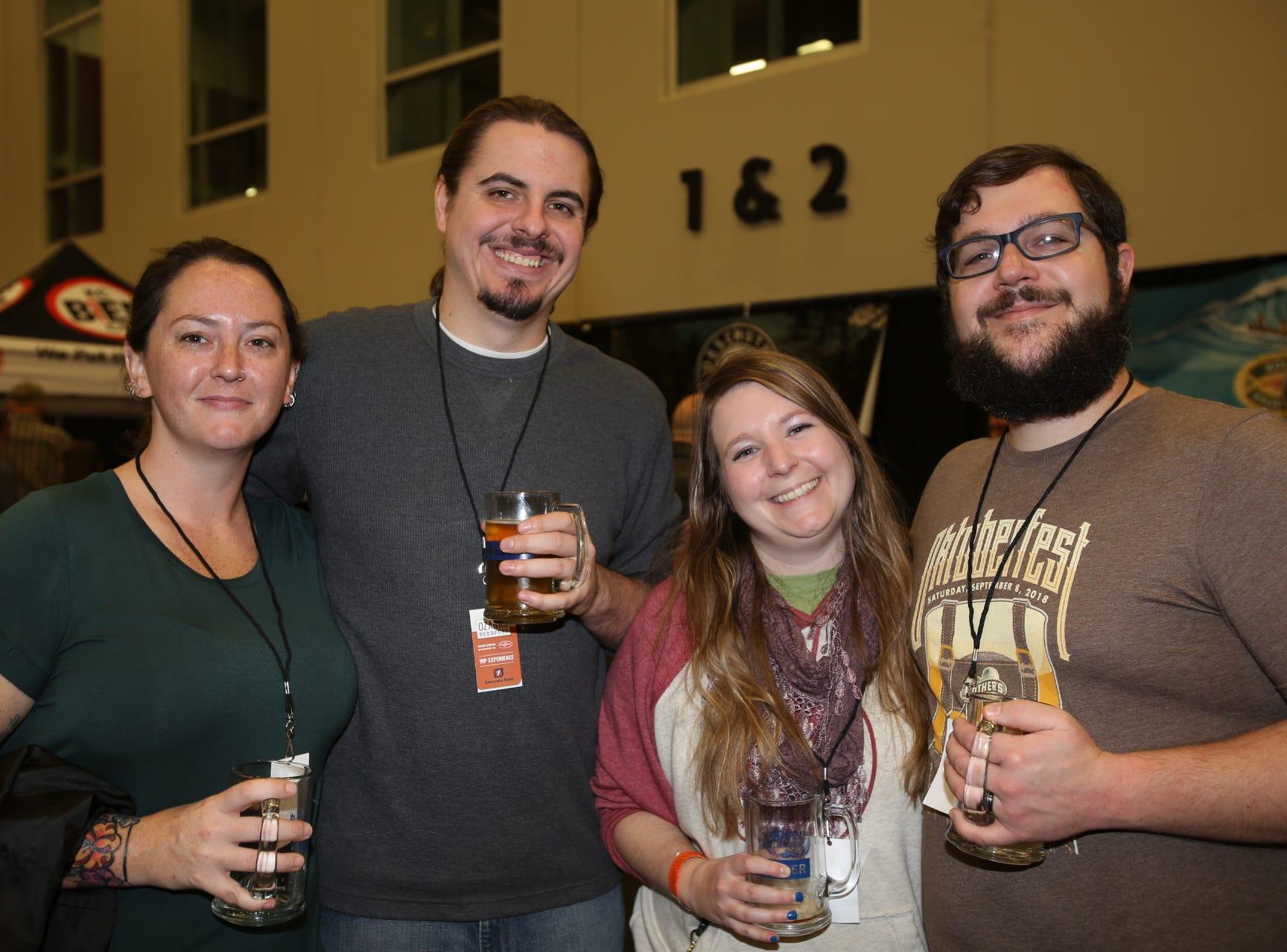 Kendle Durden, Alex Schenker, Jenny and Eric Alexander