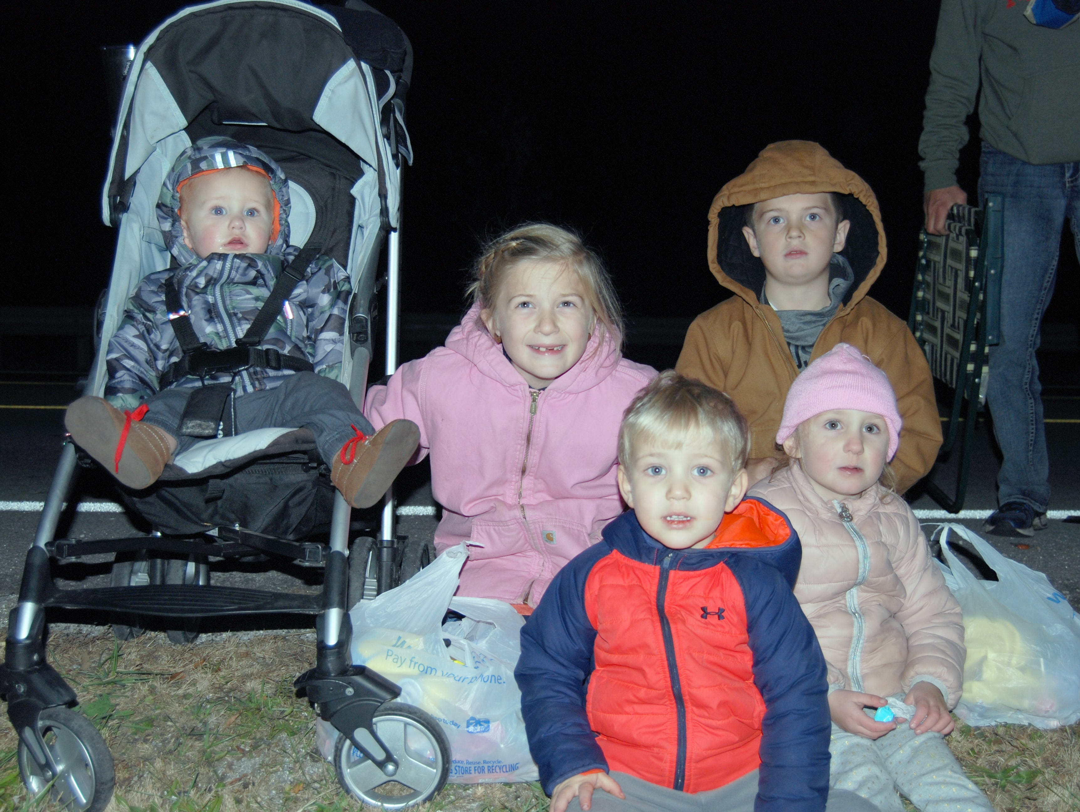 Joey, Andie, Charlie, Campbell and Annabelle