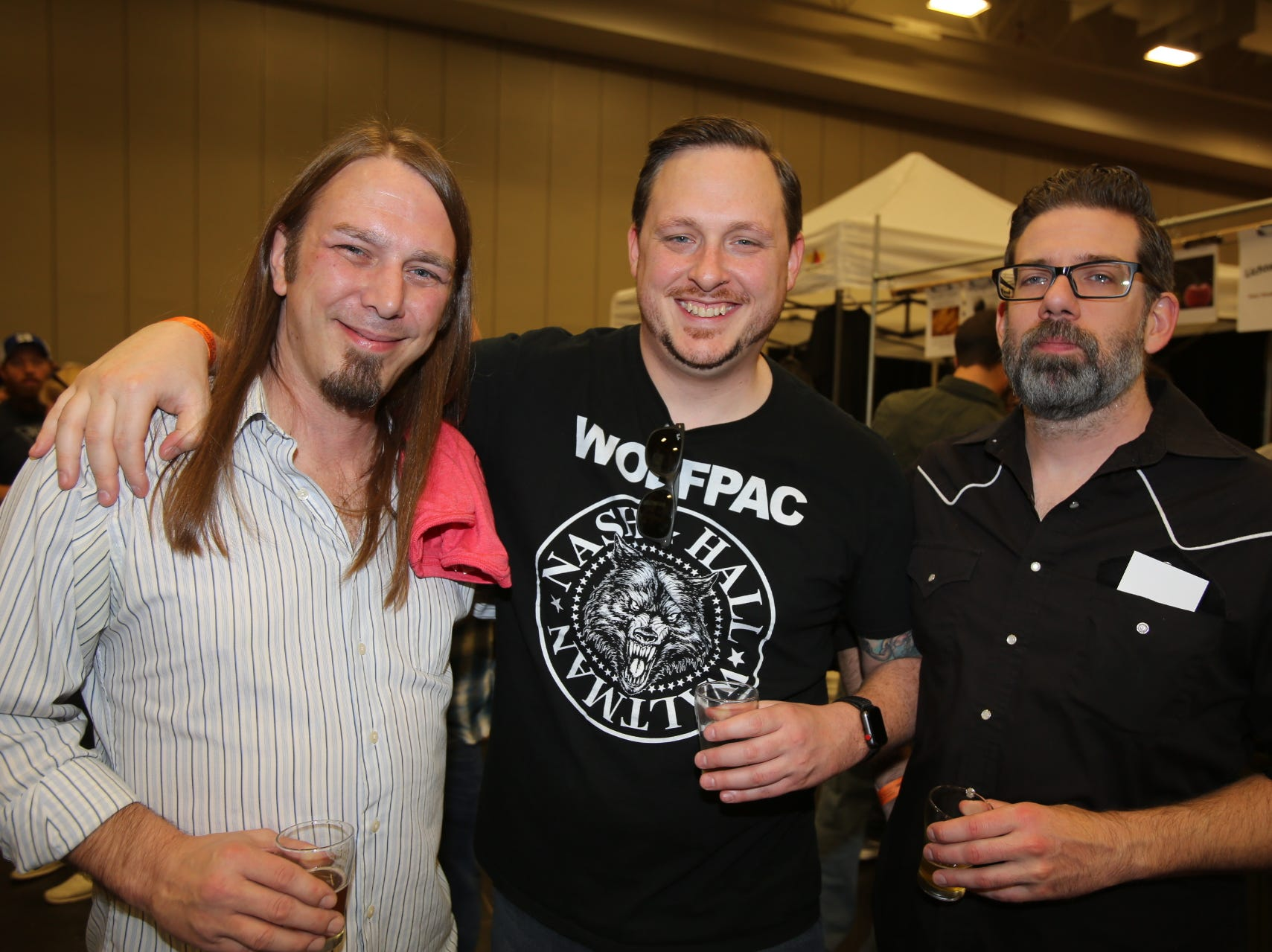 Chris Kampa, Seth Fulton, and Ryan Wallace