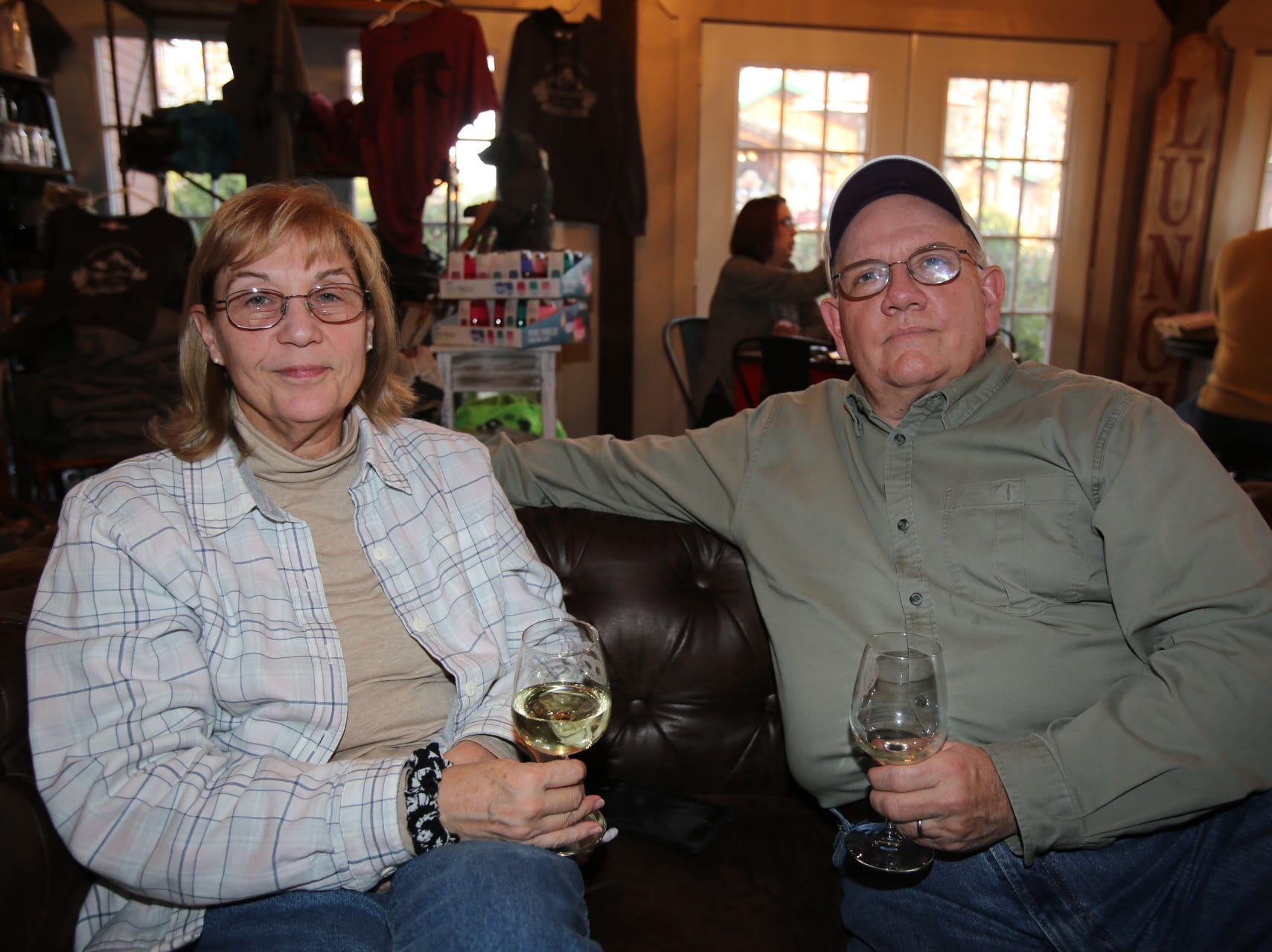 Cindy and Bob Taber