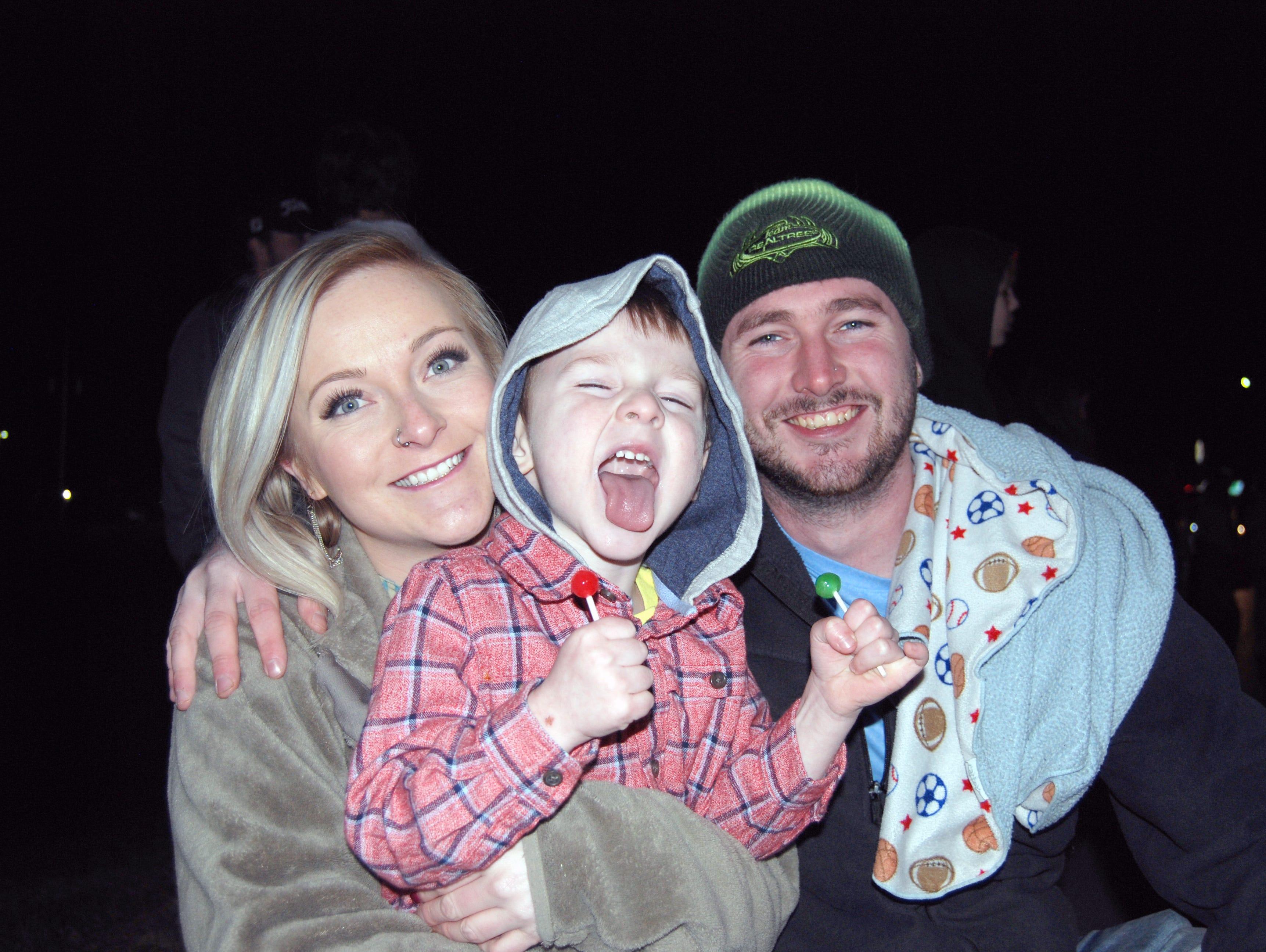 Sierra Harrison, Austin and Carson Gardner