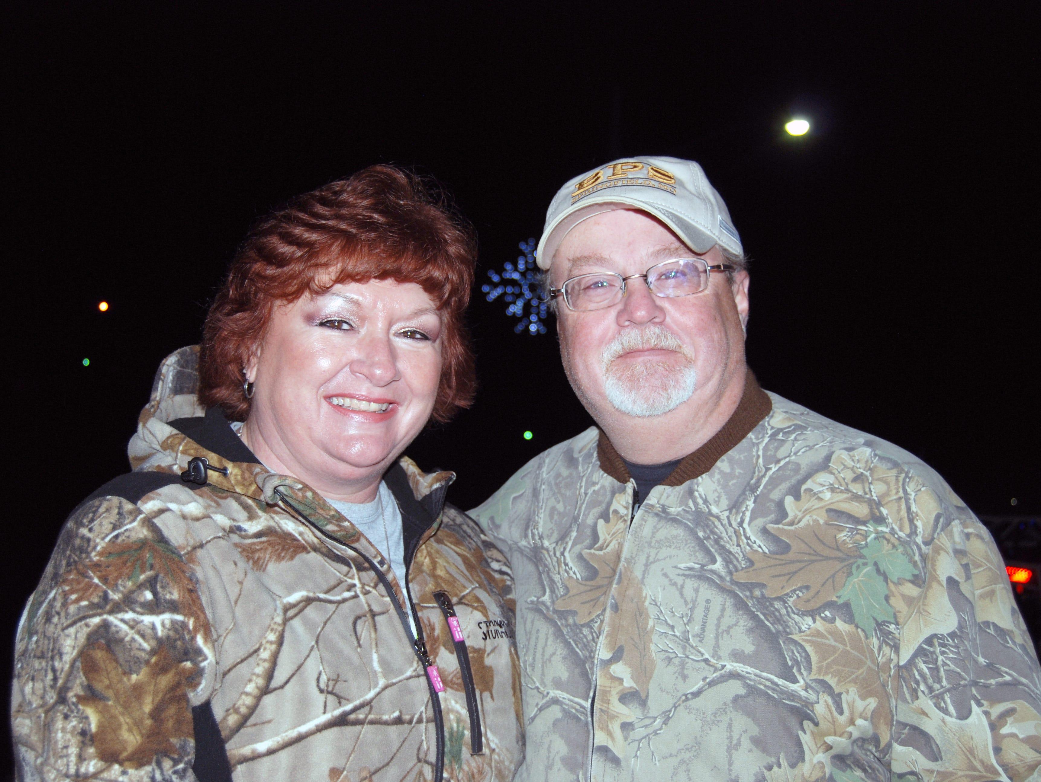 Tina and Richard Ellsworth