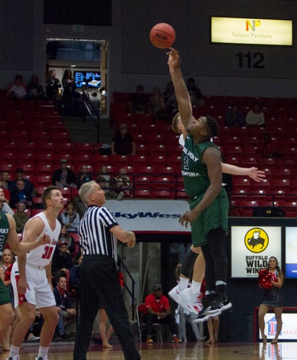 Cal Poly Pomona defeats Dixie State basketball 72-66 Saturday, Nov. 17, 2018.